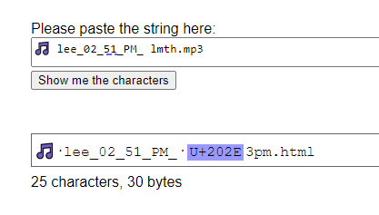 Decoded File Name